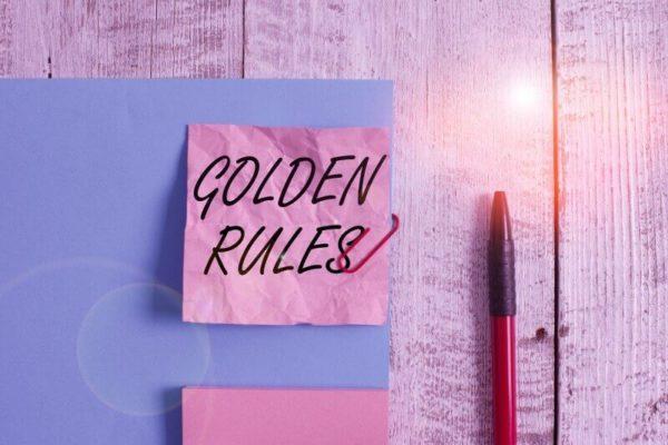 黄金のトレードルール